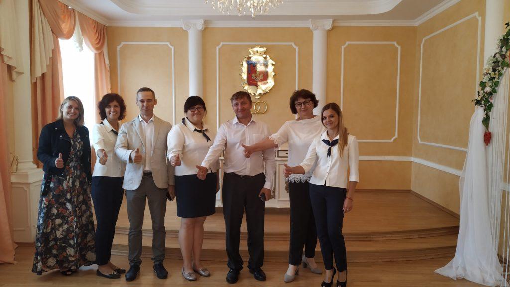 До Коростеня завітали координатори програми з покращення якості надання адмінпослуг
