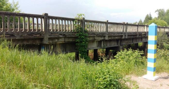 В Овруцькому районі закрили розташований на кордоні з Білоруссю міст