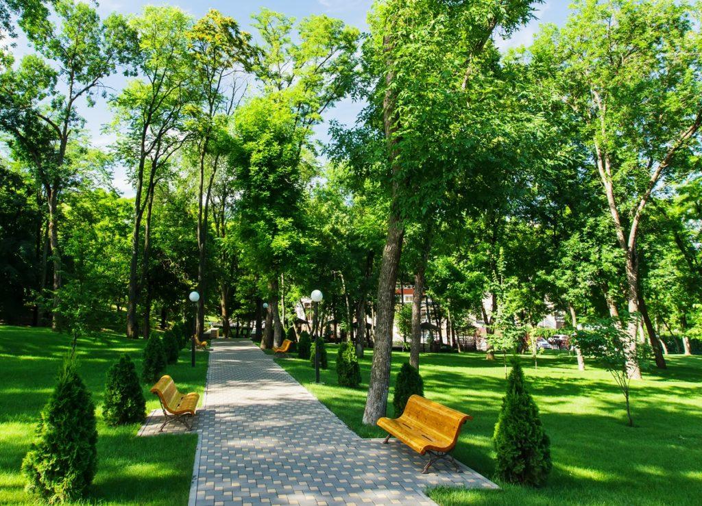 У кожному парку хочуть побудувати магазини і кафе