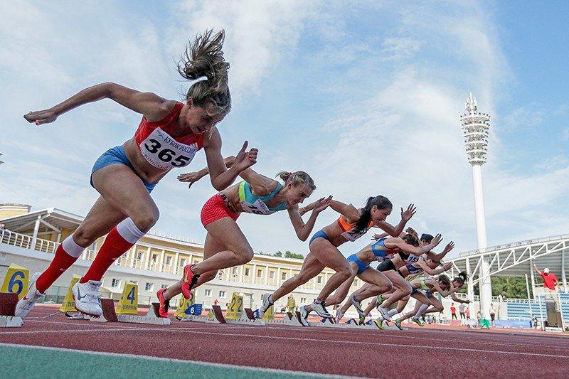 На змаганнях чемпіонату України з легкої атлетикикоростенські спортсмени здобули нагороди