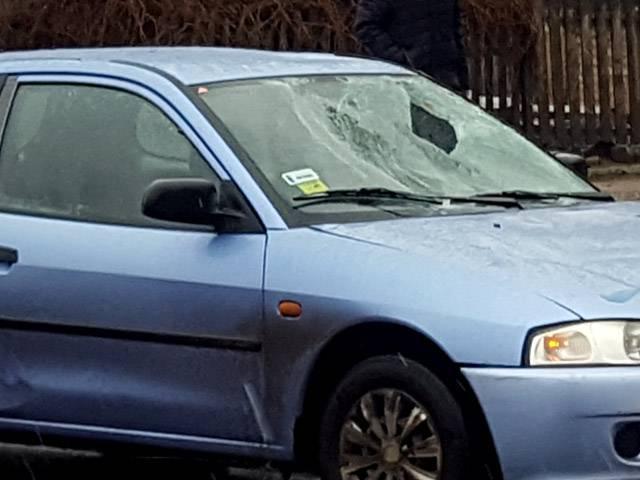 У Бердичеві автівка збила дідуся