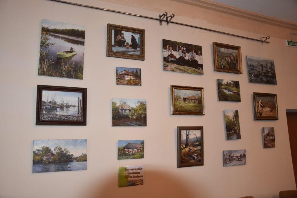 У Коростені відкрилася виставка робіт художника Сергія Кирієнка