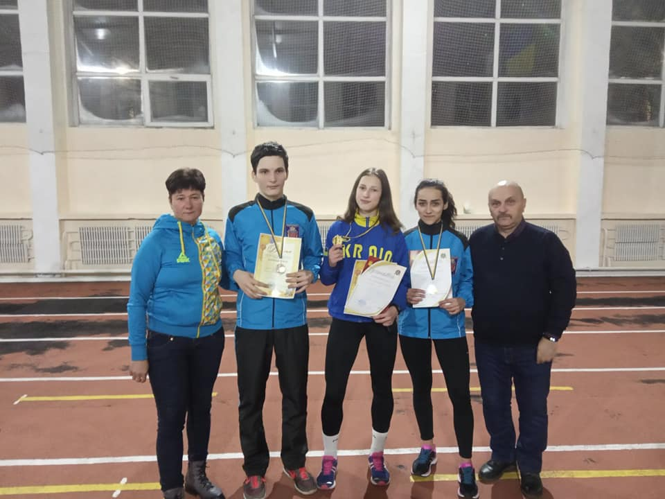 Коростенські легкоатлети показали хороші результати на змаганнях у Вінниці