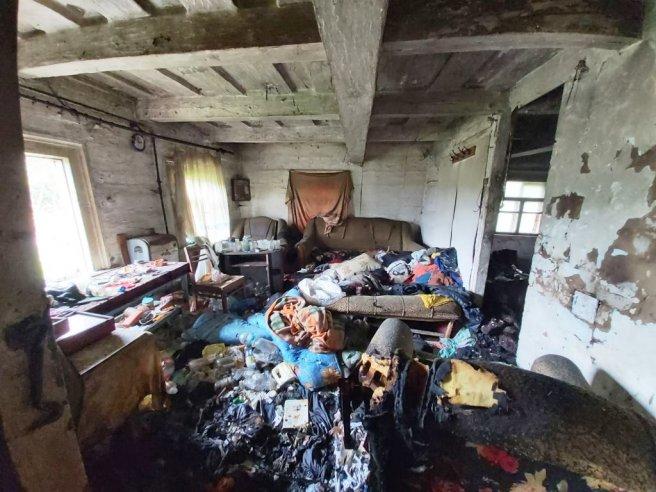 В Овручі у пожежі загинув чоловік