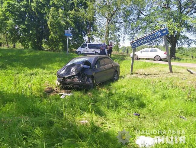 На Овруччині в аварії загинули 4 людей, серед них - 1,9-річна дівчинка