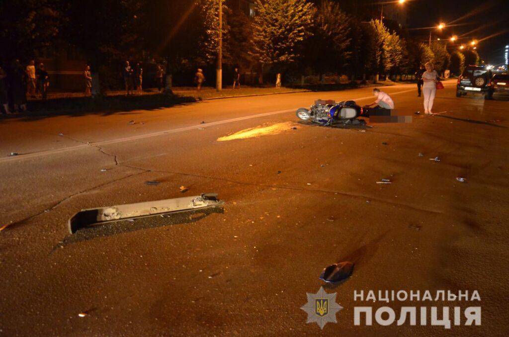У Коростені поліція з'ясовує обставини зіткнення ВАЗівки та скутера